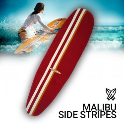 Malibu side stripe : tapis surf
