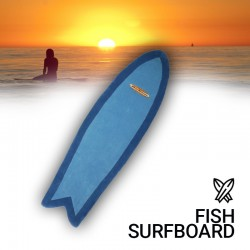Tapis Surf : Fish surfboard