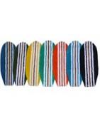 Badteppich : Badezimmer Teppich. Baumwollteppich in Form eines Surfbrettes