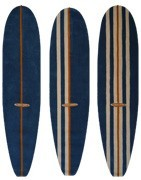 Longboard surfmatte Surfboard 3 m - Teppich für Flur und großen Raum